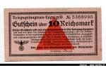 48502 - 10 Reishsmark Rose    PROMO