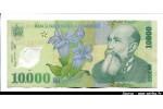 48721 - 10 000 Lei Nicolae Iorga  Polymère