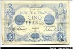 49553 - 5 FRANCS BLEU - Type 1905
