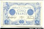 49893 - 5 FRANCS BLEU - Type 1905