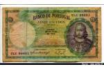 50011 - 20 Escudos D.A Luiz de Menezes