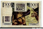 50723 - 500 FRANCS CHATEAUBRIAND - Type 1945