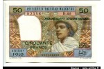 50915 - 50 FRANCS-10 ARIARY Femme