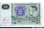 51570 - 10 Kronor Roi Gustaf VI   *  *  *  *  *  *  *  *  *