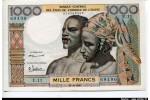 52964 - 1000 FRANCS Couple Africain