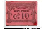 53032 - BON pour 0 Fr =10 Ch Commerce CONSTANTINE