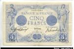 54071 - 5 FRANCS BLEU - Type 1905