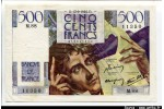 54141 - 500 FRANCS CHATEAUBRIAND - Type 1945