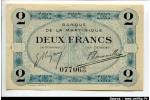 54323 - 2 FRANCS EMIS° DE NECESSITE