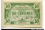 54414 - 50 CENTIMES Gouvt Général A.E.F