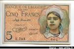 54483 - 5 FRANCS Jeune Musulmane