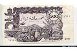 54525 - 500 Dinars Vieille Ville & Forteresse    *      *