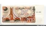54534 - 200 Dinars Monument Martyr algériens    *    *    *