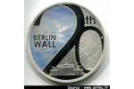 55930 - 1 DOLLAR Argt B.E 999°/°° Mur de Berlin