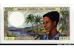56134 - 1000 FRANCS Femme & Ile d'Anjouan