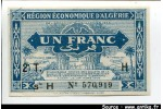 56161 - 1 FRANCS 2 ème Tirage