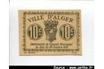 56192 - 10 CENTIMES Beige Ville d\'ALGER