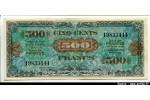 56580 - 500 FRANCS Verso