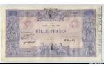 56597 - 1000 FRANCS BLEU & ROSE - Type 1889