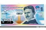 57466 - APPLIED CURRENCY CONCEPT 1 Volt Nicolas Tesla    *    *