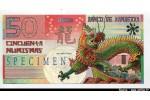 57480 - ROYAUME DE KAMBERRA  50 Numis  Dragon  SPECIMEN  N°052