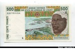 57591 - 500 Frs Homme & Barrage  K: Sénégal