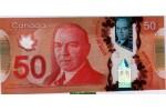 57637 - 50 Dollars W.L Mackenzie Polymère