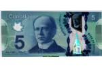 58108 - 5 Dollars Polymère Sir W.Laurier   *   *  *   *  *  *  *   *  *  *     NEW