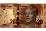 58122 - 20 Rand Nelson Mandela  & Eléphant     *   *   *   *   *