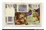 58530 - 500 FRANCS CHATEAUBRIAND - Type 1945