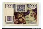 58532 - 500 FRANCS CHATEAUBRIAND - Type 1945