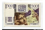 58535 - 500 FRANCS CHATEAUBRIAND - Type 1945
