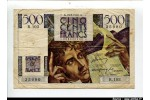 58545 - 500 FRANCS CHATEAUBRIAND - Type 1945