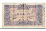 58728 - 1000 FRANCS BLEU & ROSE - Type 1889