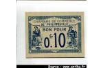 58782 - BON p/ 0fr10 Ch de commerce PHILIPPEVILLE