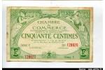 58792 - 50 CENTIMES Chambre de Commerce