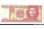 58850 - 3 Pesos Che Guevarra  *  *  *  *   PROMO