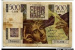 59928 - 500 FRANCS CHATEAUBRIAND - Type 1945