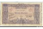 60117 - 1000 FRANCS BLEU & ROSE - Type 1889