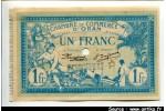 60184 - 1 FRANC Chambre Commerce ORAN