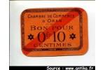 60196 - 0fr10-010  Chambre Commerce ORAN