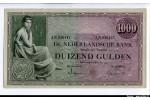 61151 - 1000 Gulden Femme Assise  RARETE  Alph AN    *     *    *    *    *