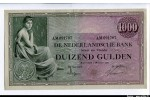 61152 - 1000 Gulden Femme Assise  RARETE  Alph AM    *     *