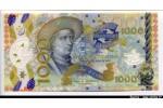 61411 - Portugal 1000  Escudos Polymère Banco National de Exploracao Infante D.Henrique  *     *