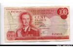 61592 - 100 Francs Grand Duc Jean