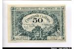 61648 - 50 Centimes Bleu Série B N°100384