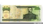 61699 - 10 Pesos de Oro Matias Ramon Mella