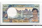 61829 - 500 Francs Pêcheur I.E.OM PAPEETE  A.4