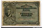 61962 - 50 Rupien Portrait Kaiser Wilhelm II   RARETE