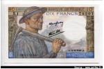 61972 - 10 FRANCS MINEUR - type 1941